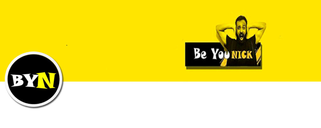 Be YouNick Youtube Banner